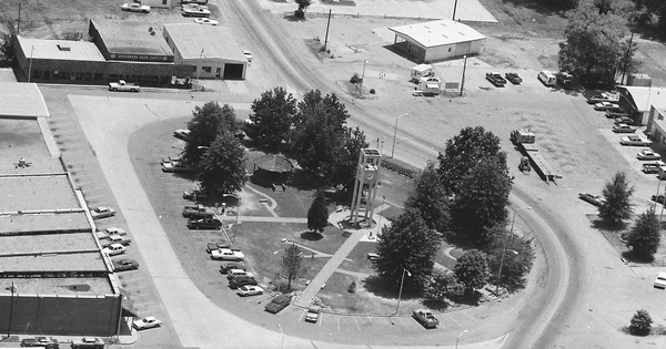 Vintage Aerial photo from 1985 in Sebastian County, AR
