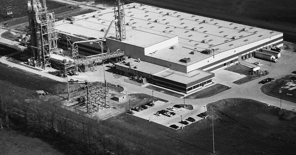 Vintage Aerial photo from 1994 in Lowndes County, MS
