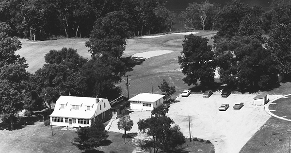 Vintage Aerial photo from 1969 in Mason County, IL