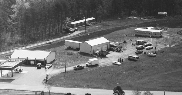 Vintage Aerial photo from 1989 in Lincoln County, NC