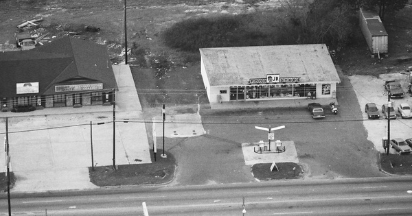 Vintage Aerial photo from 1985 in Coffee County, AL