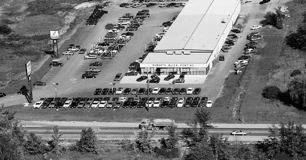 Vintage Aerial photo from 1987 in Lapeer County, MI