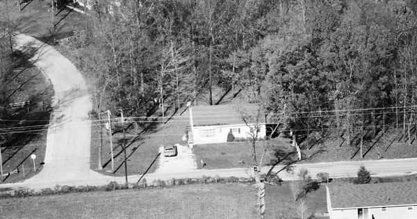 Vintage Aerial photo from 1984 in York County, PA
