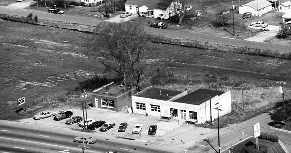 Vintage Aerial photo from 1993 in Cabarrus County, NC