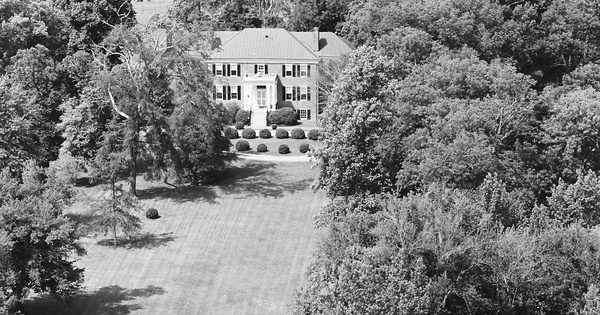 Vintage Aerial photo from 1983 in Powhatan County, VA