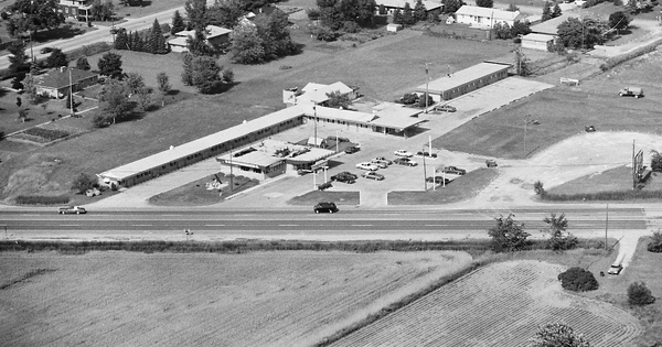 Vintage Aerial photo from 1980 in Bay County, MI