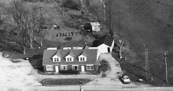Vintage Aerial photo from 1992 in Franklin County, MO