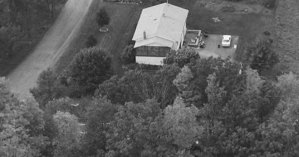 Vintage Aerial photo from 1997 in Bradford County, PA