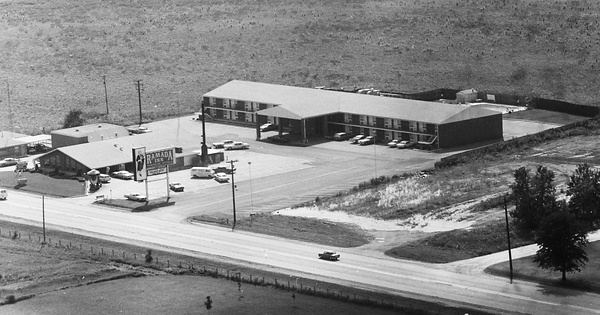 Vintage Aerial photo from 1971 in Kankakee County, IL