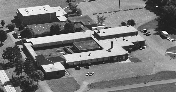Vintage Aerial photo from 1990 in Adams County, PA
