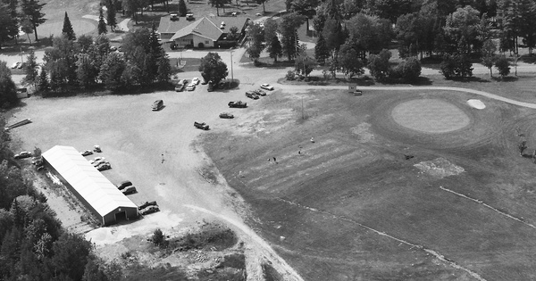 Vintage Aerial photo from 1996 in Marquette County, MI