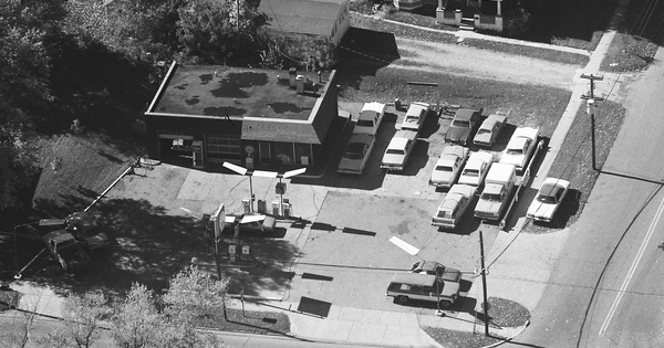 Vintage Aerial photo from 1981 in Hillsdale County, MI