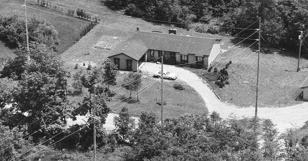 Vintage Aerial photo from 1985 in Wayne County, MI