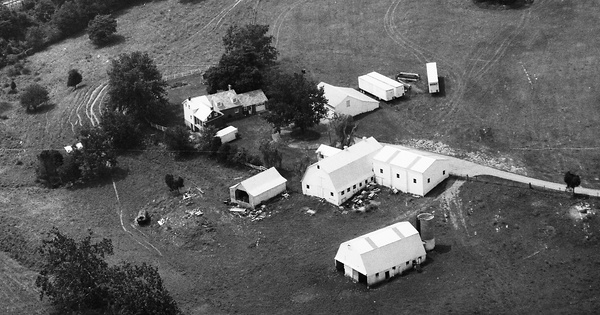 Vintage Aerial photo from 1993 in Washington County, MD