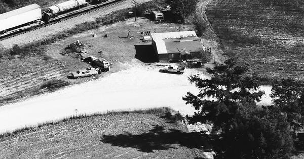Vintage Aerial photo from 1983 in Chilton County, AL