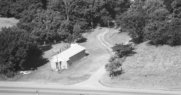 Vintage Aerial photo from 1986 in Adair County, OK