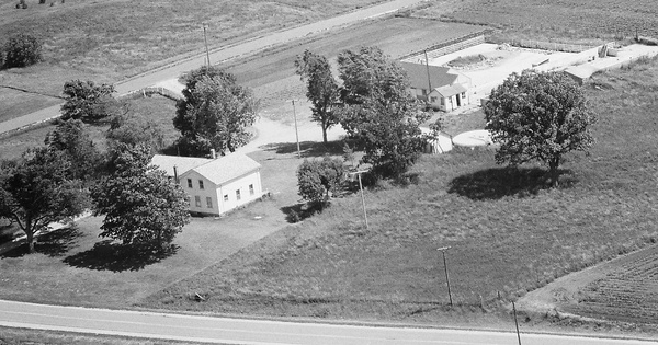 Vintage Aerial photo from 1979 in Walworth County, WI
