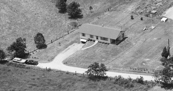 Vintage Aerial photo from 1983 in Cherokee County, SC