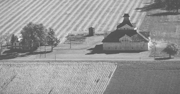 Vintage Aerial photo from 1975 in Henry County, OH