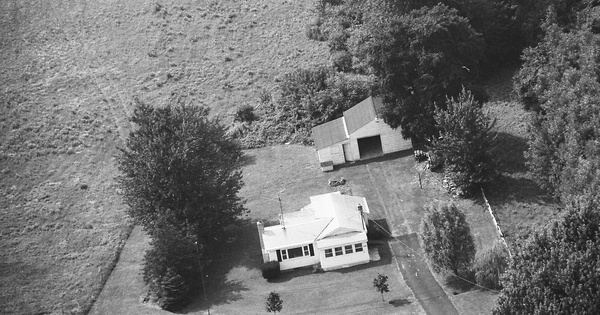 Vintage Aerial photo from 1989 in Oswego County, NY