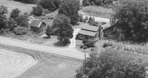 Vintage Aerial photo from 1988 in Cabarrus County, NC