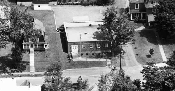Vintage Aerial photo from 1968 in Windsor County, VT
