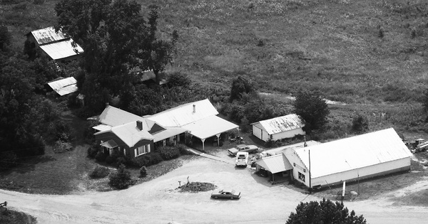 Vintage Aerial photo from 1991 in Granville County, NC