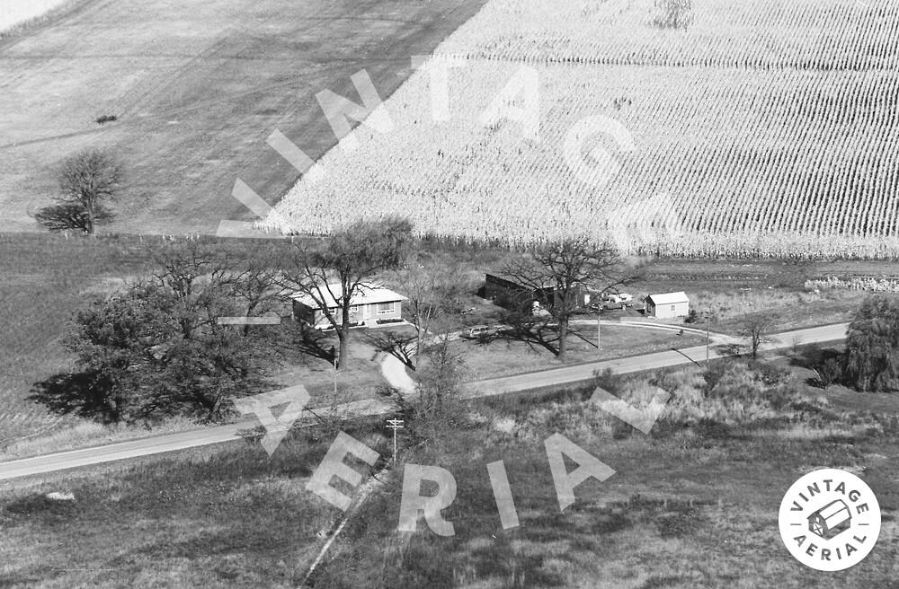 Vintage Aerial | Wisconsin | Kenosha County | 1974 | 2-KKE-29