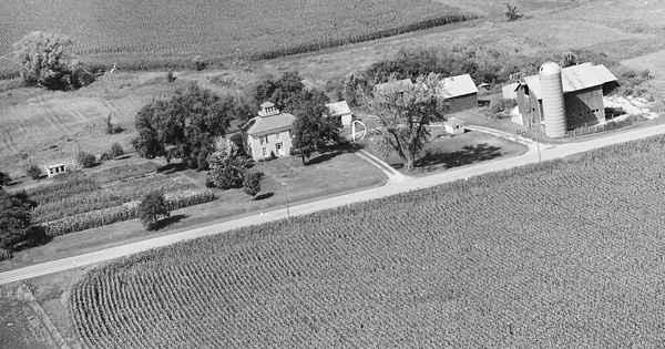 Vintage Aerial photo from 1979 in Winnebago County, IL