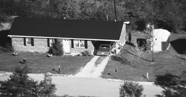Vintage Aerial photo from 1982 in Powell County, KY