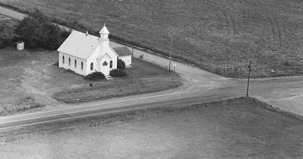 Vintage Aerial photo from 1978 in Cowley County, KS