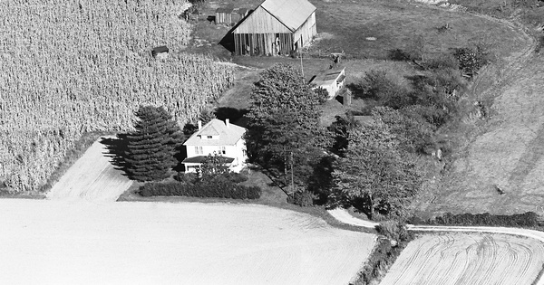 Vintage Aerial photo from 1976 in Harrison County, IN