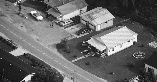 Vintage Aerial photo from 1989 in Lawrence County, KY