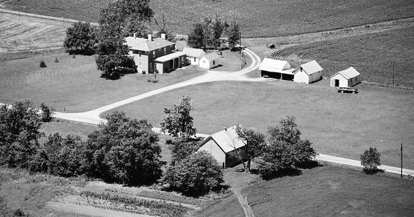Vintage Aerial photo from 1984 in Ross County, OH