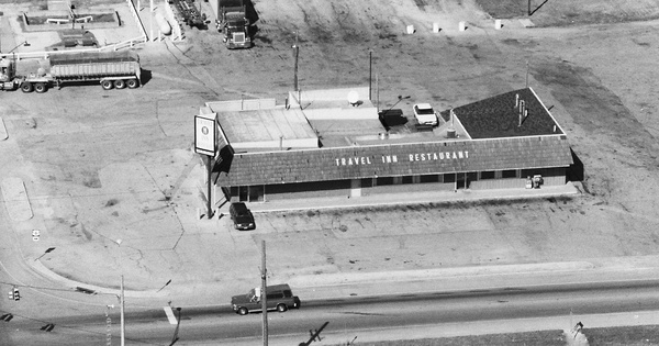 Vintage Aerial photo from 1995 in Sandusky County, OH