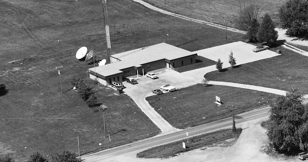 Vintage Aerial photo from 1984 in Williamson County, IL