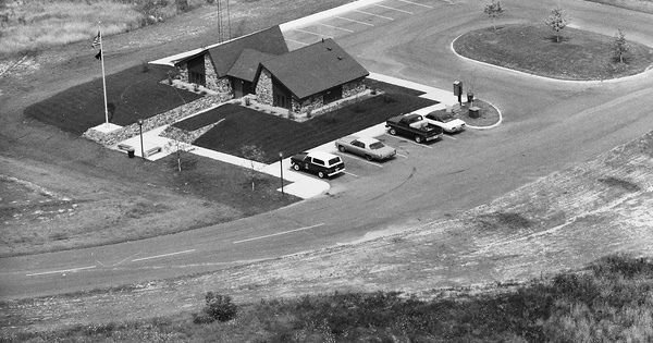Vintage Aerial photo from 1978 in St. Joseph County, IN