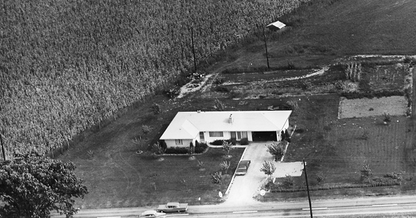 Vintage Aerial photo from 1963 in Franklin County, OH