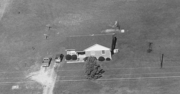 Vintage Aerial photo from 1995 in Wake County, NC