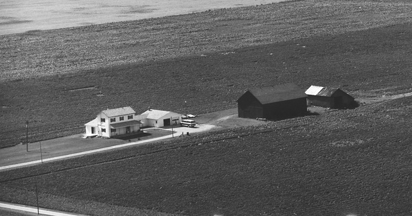 Vintage Aerial photo from 1977 in Darke County, OH