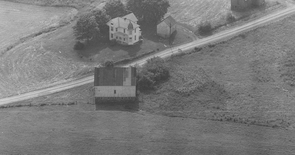Vintage Aerial photo from 1980 in Noble County, OH