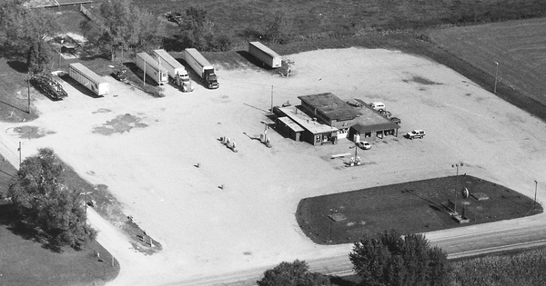 Vintage Aerial photo from 1997 in Marshall County, IN