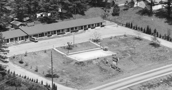 Vintage Aerial photo from 1987 in Heard County, GA