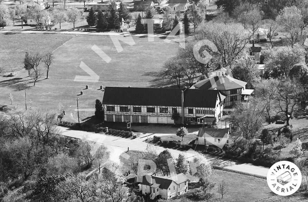 Vintage Aerial | Wisconsin | Kenosha County | 1974 | 58-KKE-2