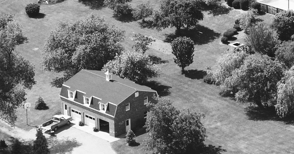 Vintage Aerial photo from 1988 in Butler County, PA
