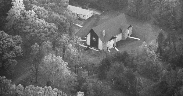 Vintage Aerial photo from 1983 in Berks County, PA