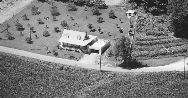 Vintage Aerial photo from 1981 in York County, PA