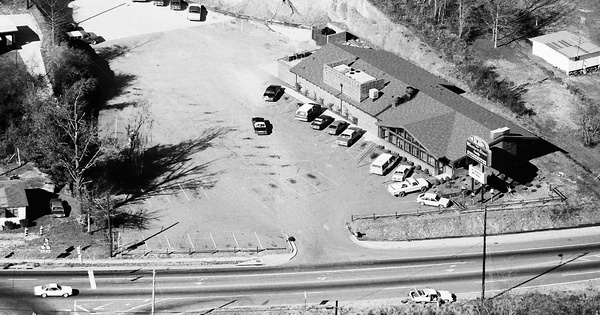 Vintage Aerial photo from 1983 in Cherokee County, GA