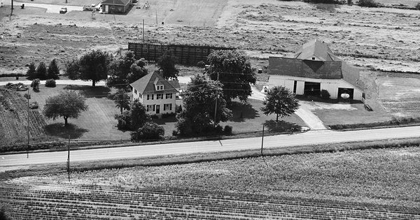 Vintage Aerial photo from 1981 in Wood County, OH