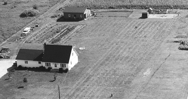 Vintage Aerial photo from 1984 in Lake County, OH